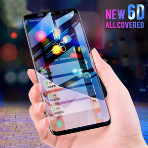 Tempered Glass For Samsung Galaxy S20 Note10 PLUS Full Screen Protector 6D Black