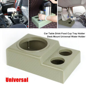 1X Car Table Drink Cup Tray Holder Desk Mount Water Holder For RV Center Armrest