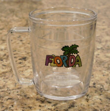 15 OZ Tervis Handle Mug w Embroidered Florida Patch Design