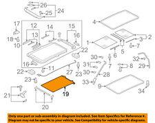 VW VOLKSWAGEN OEM Tiguan Sunroof Sun Roof-Sunshade Shade Cover 1K9877307B6Z0