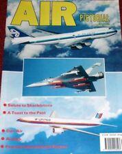 Air Pictorial Magazine 1991 June Dan Air,Fairey Hendon,Malta,Avro Shackleton