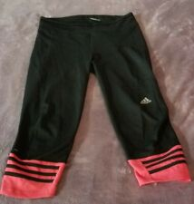 Adidas Climalite Response Black and Hot Pink Capri Size M