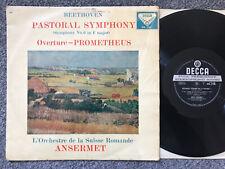 Beethoven - Pastoral Symphony - Ansermet - Decca stereo LP SXL 2193 - Ed1 - WBG