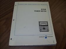 HP 435A Power Meter Operating and Service Manual.