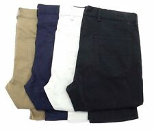 New EX M/&S Men/'s Navy Chinos Pure Cotton Straight Fit Trouser Size 36-44 RRP £29