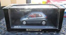 M92 1/43 BMW E1 MYSTIC GREY MINICHAMPS