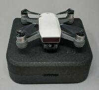 DJI Spark Quadcopter (Alpine White) W/ 2-Axis Stabilized Gimbal Camera - Nice