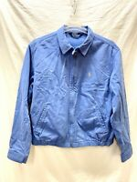 Vintage Polo Ralph Lauren Mens Zip Up Jacket Coat Blue Size Large