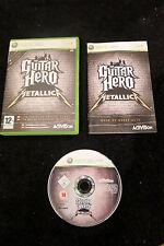 XBOX 360 : GUITAR HERO : METALLICA - Completo, ITA ! La musica dei Metallica !