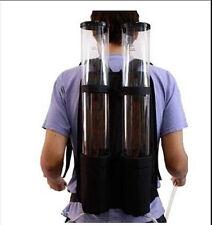New Acrylic Backpack Dual Dispenser For Beer Drink Liquid Shot Pump Gun PUB Beer