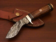 Rody Stan HAND MADE DAMASCUS KHUKRI KUKRI KNIFE - BRASS GUARD - PW-7020