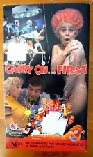 CARRY ON FIRST 4 x Videos Box Set Carry On: Abroad, Doctor, Dick & Up the Khyber