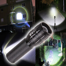 3W 3 Mode Waterproof Zoomable LED Flashlight Focus Torch Zoom Lamp Light Outdoor