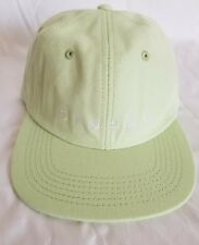 aa1e6a73e1d Stussy SpellOut Logo Baseball Ball Cap Hat StrapBack Mint Green Men s OSFA  NWT