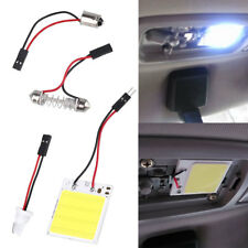 T10 White 48SMD COB LED Car Interior Panel Light Dome Lamp Bulb High Power