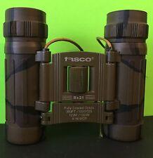 Tasco Binoculars 8 X 21 Camouflage Model 165BCR