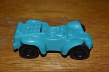 VINTAGE BLUE PLASTIC ROLLERBALL CAR