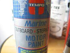 NEW! TEMPO MARINE MOTOR PAINT #020487/MODEL #6987. CLEAR PRIMER.
