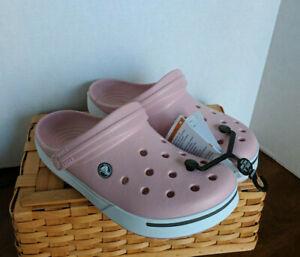 Crocs Crocband II Women's Clog (11989-617) Petal Pink / Graphite SIZES 7 - 9 NWT