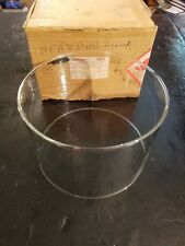 "NEW IN BOX Kerosene Heater Glass for Aladdin Heaters. 90mm / 4-3/8"" Tall"