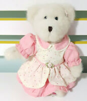 Boyds White Mother's Day Teddy Bear Plush Toy #1 Mum 26cm Tall!