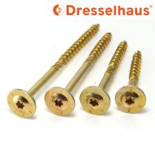 Dresselhaus Konstruktionsschrauben Sparrenschraube Tellerkopf 8-10mm Schrauben j