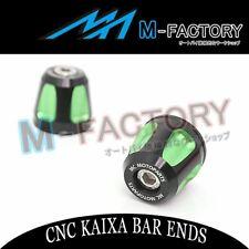 KAIXA CNC Bar Ends Fit Kawasaki Ninja 650R ZX 600 Ninja ZX6 NINJA 300R ER6N ER6F