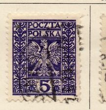 Poland 1929-30 Early Issue Fine Used 5gr. 254547