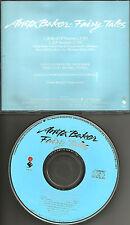 ANITA BAKER Fairy tales w/ RARE EDIT PROMO radio DJ CD single 1990 USA MINT