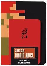 Super Mario Bros. Notebooks (Set of 3) (Hardback or Cased Book)