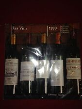 Calendar 1998 French Wines vineyard - FRANCE - Beautiful Pictures For Framing