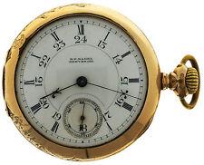 Rare Peoria Superior Quality 18s 15j OF 3 Star Pocket Watch HP Hagel Dever Colo