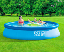 "NEW Pool 13' x 33"" EASY SET Inflatable Swimming Pool w Filter Pump 