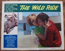 THE WILD RIDE Orig. (196O) LC #6  BAD BOY HOT ROD JACK NICHOLSON EMBRACES WOMAN!