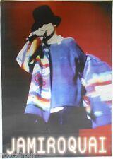 JAMIROQUAI Jay Kay Live On Stage Original Vintage 1990's 33 X 23 Colour POSTER