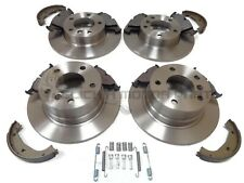 BMW Z3 Roadster E36//7 1.9 96-02 Rear Brake Discs Drilled Grooved Gold Edition