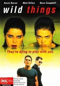 Wild Things (DVD, 2003) Kevin Bacon, Matt Dillon Brand New & Sealed Region 4