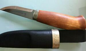 Brusletto Messer Rypa Flammenbirkengriff 16,7 cm NEU