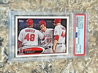 2017 Topps Rediscover Promo Mike Trout PSA 10 GEM MINT Los Angeles Angels 2