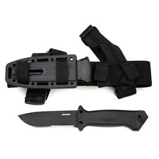 GERBER G1629 LMF II INFANTRY BLACK FIXED KNIFE WITH SHEATH