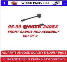 Front Control Arm RADIUS ROD ASSEMBLY NISSAN240SX 95-98(FITS 240SX 95-98) SET  2