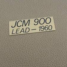 Marshall JCM 900 Lead plate