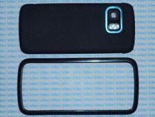 Cover case vetro per Nokia 5800 nera nero+penna pennino new