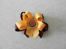 Brisbane Broncos Hair Bow