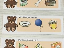 Phonics Bb- What Begins With Bb - Laminated Activity Set - Teaching Supplies