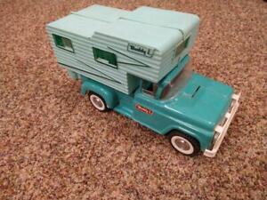 Vintage Buddy L Pickup Camper