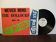 "B223: The Sex Pistols ""Never Mind the Bollocks"" Warner BSK 3147 NM/NM"