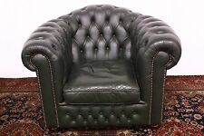 Splendida poltrona chesterfield / chester club originale inglese pelle / england