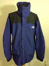 vintage THE NORTH FACE blue & black HYVENT nylon jacket mens sz L