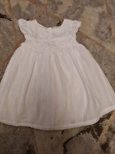 Next Baby Girl Dress & Knicker Set Age 12-18 Months EUC
